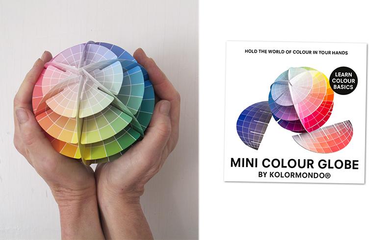 MINI colour globe with cover