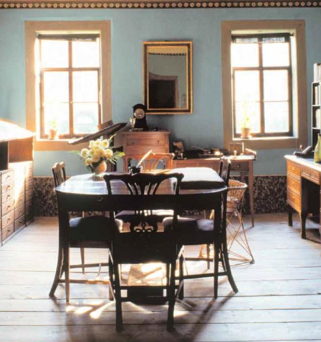 Goethes Arbeitszimmer am Frauenplan in Weimar (Poster)