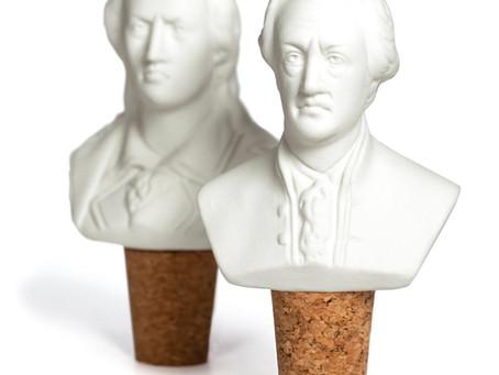 Weinwächter, Goethe und Schiller