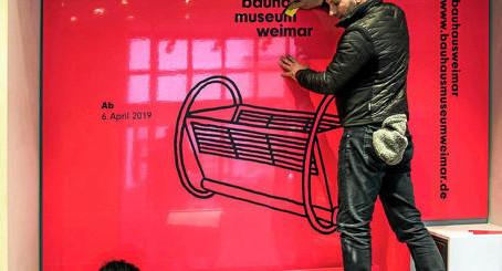 Der neue Bauhaus Store in der Thüringer Allgemeine