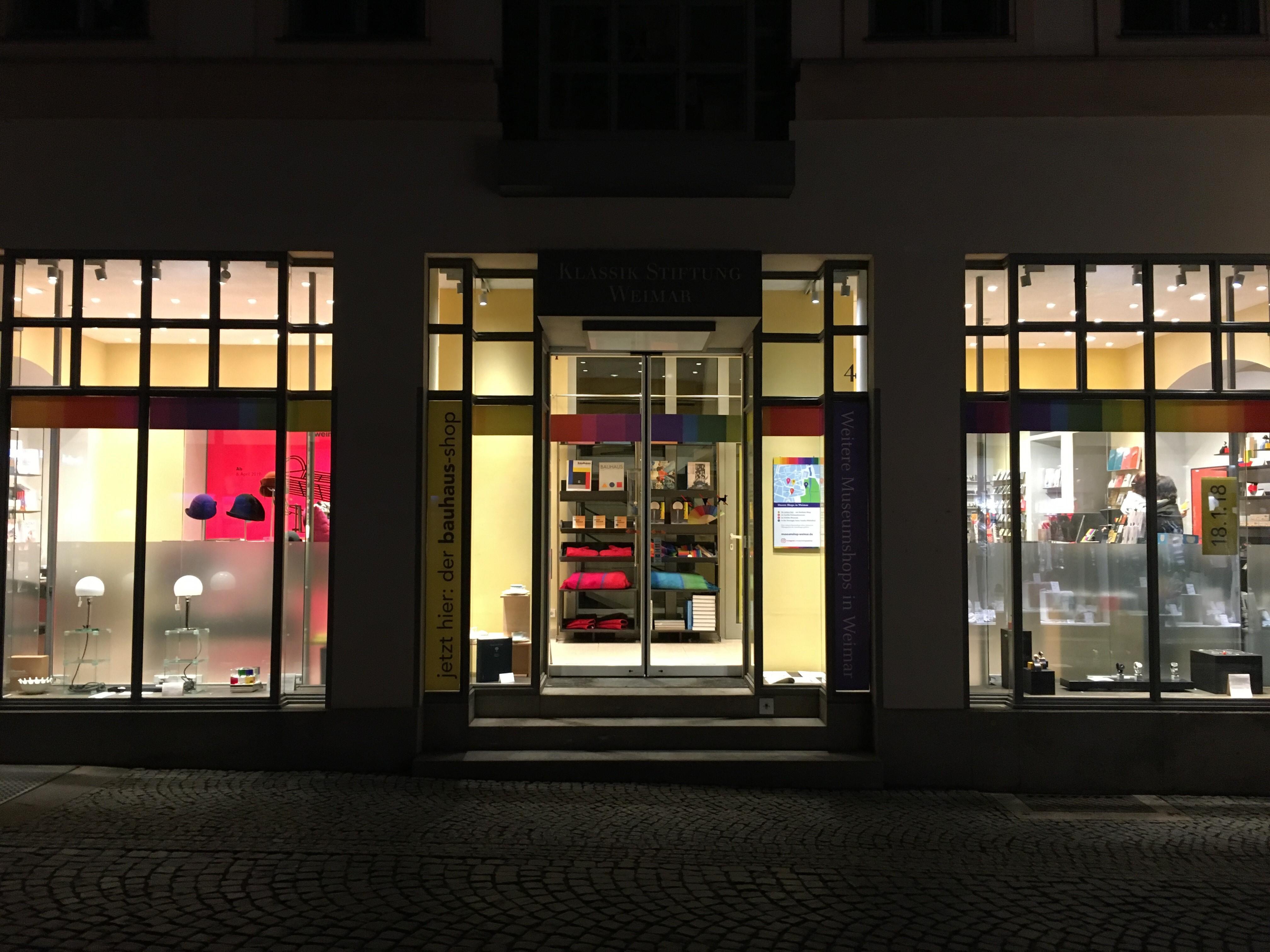 Nun Ist Der Bauhaus Store Eröffnet Museumshop Klassik Stiftung Weimar