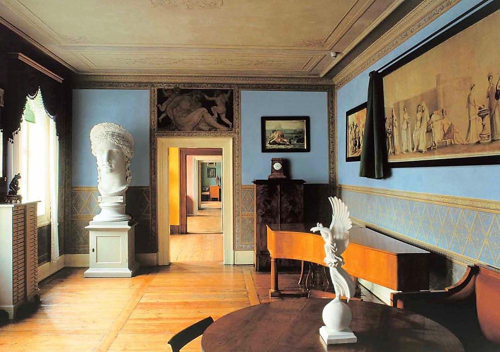 Das Junozimmer in Goethes Wohnhaus (Poster)