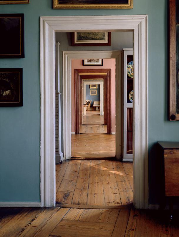 Zimmerflucht in Goethes Wohnhaus (Poster)