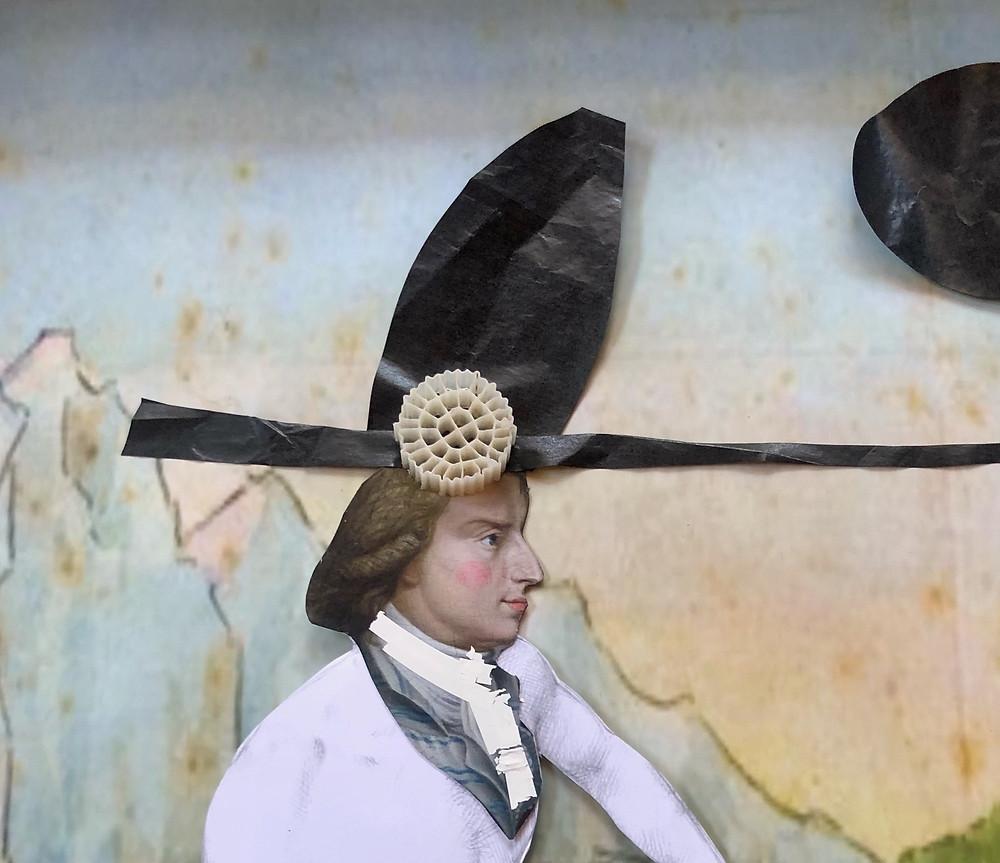 Detail aus der Editon Faustina von Jeanne Koepp