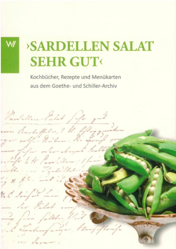 Buch mit Kochrezepten aus der Goethezeit