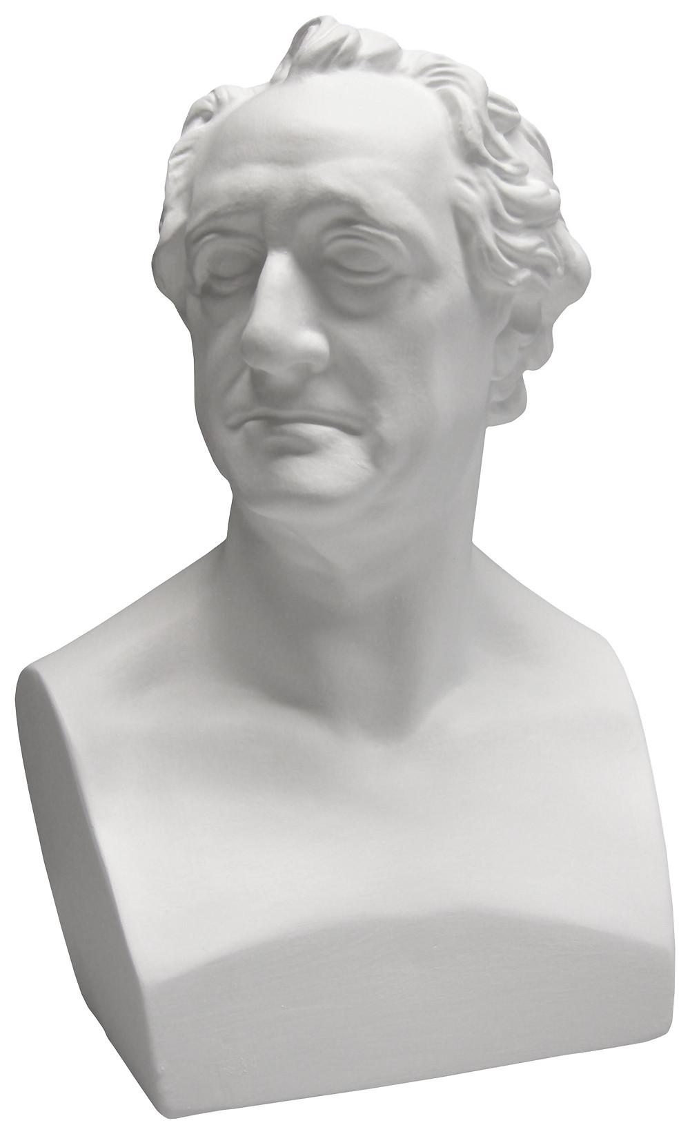 Replik der Goethe-Büste nach C.D. Rauch (1820), handgegossen