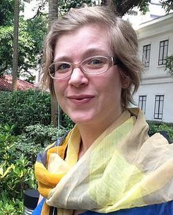 Art Teacher Alison Stephen