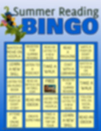 Bingo Summer Reading - Made with PosterM