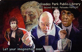 Unique Palisades Park Public Library Card
