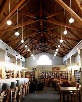 Interior of the Palisades Park Public Library