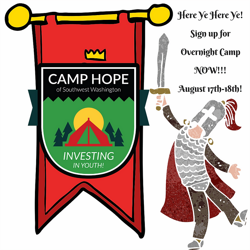 Overnight Camp - Medieval Times