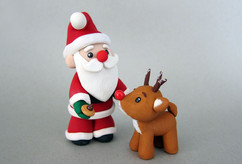 Sculpey Santa