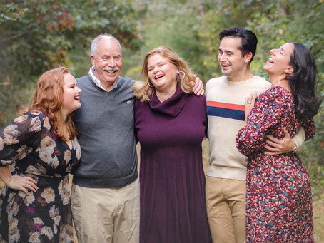 Don't Look Stiff: How to pose for your family photos.