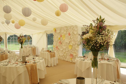 Those Party People Flower Wall Sussex
