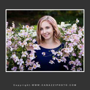 High School Senior Girl in flowers outdoors in Vancouver Washington_103.jpg