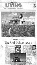 Old Schools Along The Oregon Trail - Photos by Gary Canazzi