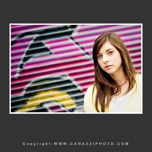 Close up of High School Senior Gal with graffiti in Portland Oregon_321.jpg
