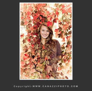 High School Senior Gal surrounded by tree of fall colors Vancouver Washington_250.jpg