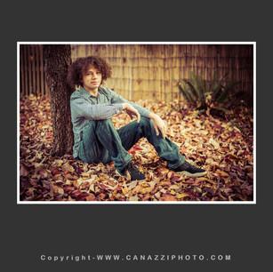High School Senior Boy under tree with leaves Vancouver Washington_111.jpg