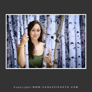 High School Senior Girl with birch trees in Vancouver Washington_105.jpg