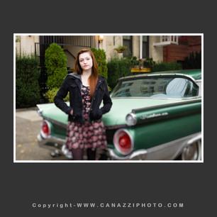 High School Senior Gal with old Ford in Urban Portland Oregon_310.jpg