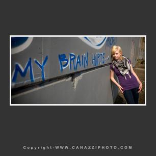 High School Senior Gal with graffiti in Industrial Portland Oregon_307.jpg