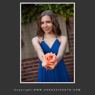 High School Senior Gal wearing blue dress in Portland Oregon Rose Garden_328.jpg