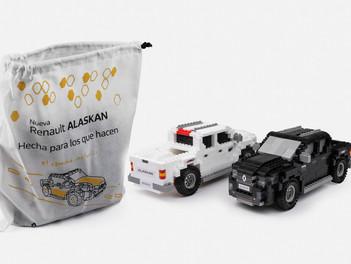 Réplica Renault Alaskan hecha en Rasti
