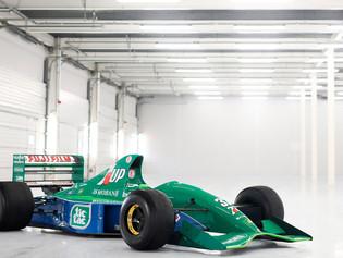 El Jordan 191 - Ford Cosworth HB de F1 ex Michael Schumacher está a la venta.