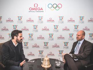 Entrevista a Alain Zobrist, CEO de Omega Timing