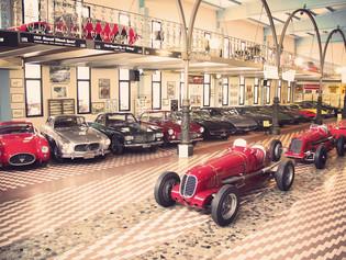 Museo Maserati-Panini: Una colección de figuritas difíciles