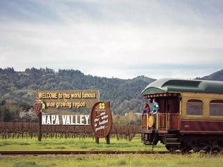 Napa Valley Wine Train: El tren de la alegría