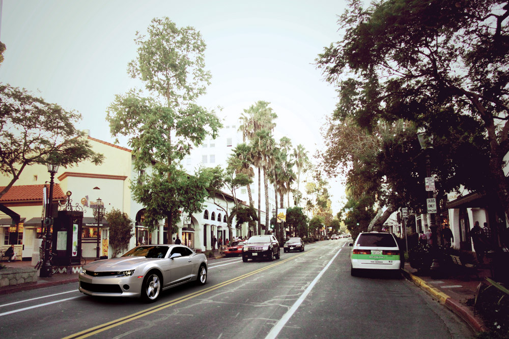 State St. Calle principal de Santa Bárbara