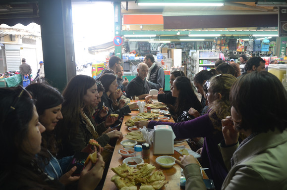 Lunch at the Hatikva Market