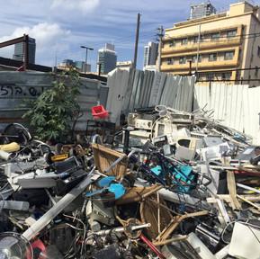 Scrap yard in Neve-Shaanan