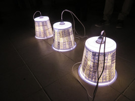 Light fixtures for the Levinsky Library