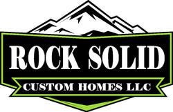 ROCK SOLID CUSTOM HOMES LOGO