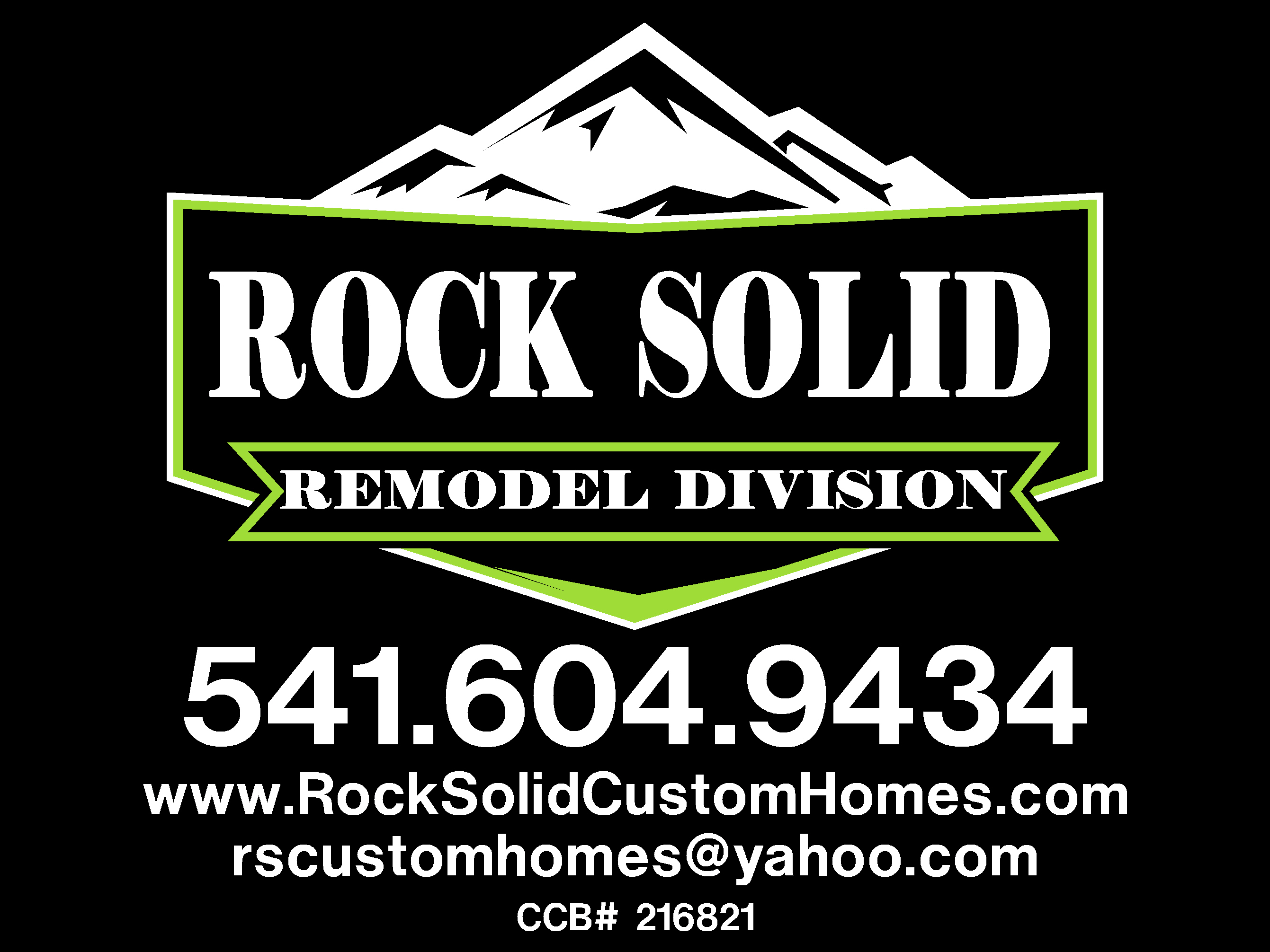 ROCK SOLID CUSTOM HOMES