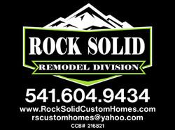 ROCK SOLID CUSTOM HOMES