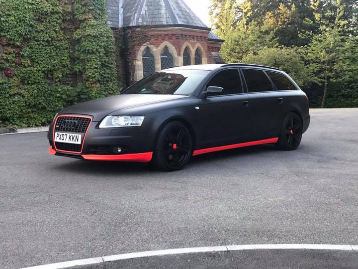 Completed Audi A6 Avante Project