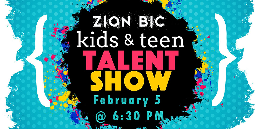 Supper and Talent Show