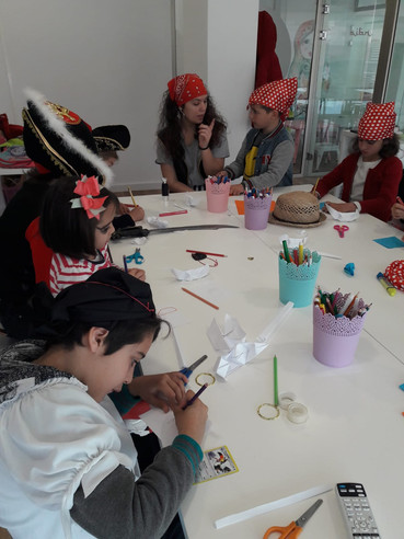 Pirate's Day Easter School