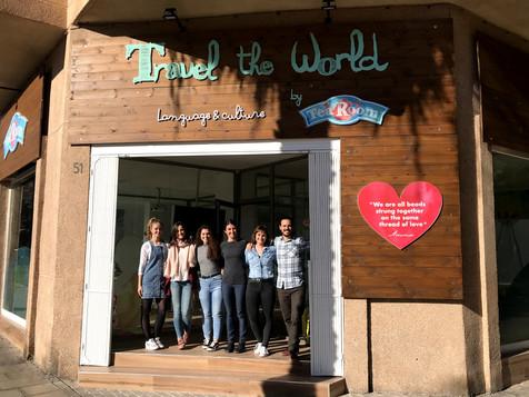 Travel by Tea Room nuevas instalaciones