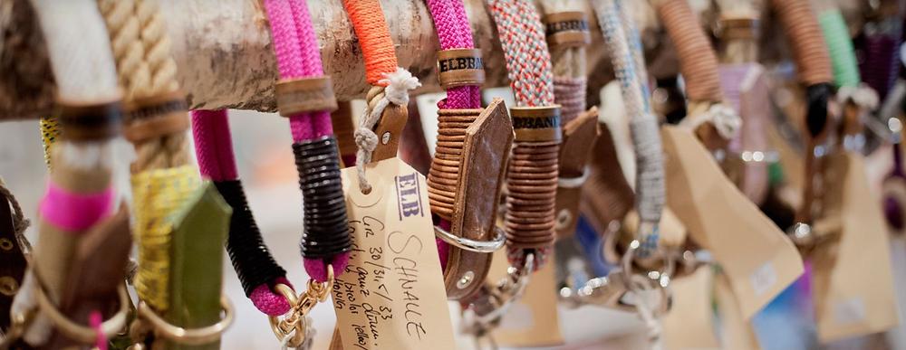 Elbband Halsbänder und Leinen aus Segeltau bestellen mit unserem Elbband Konfigurator im Dogsmopolitan Online Shop