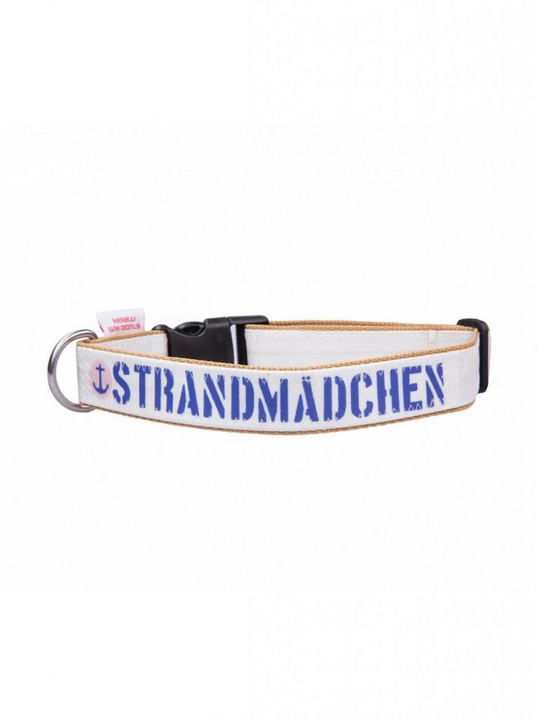 Strandmädchen Hundehalsband