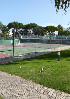 Tennis courts near Balaia reception
