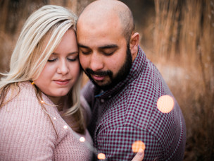 Danielle + Mike | Engagement at Carver's Creek
