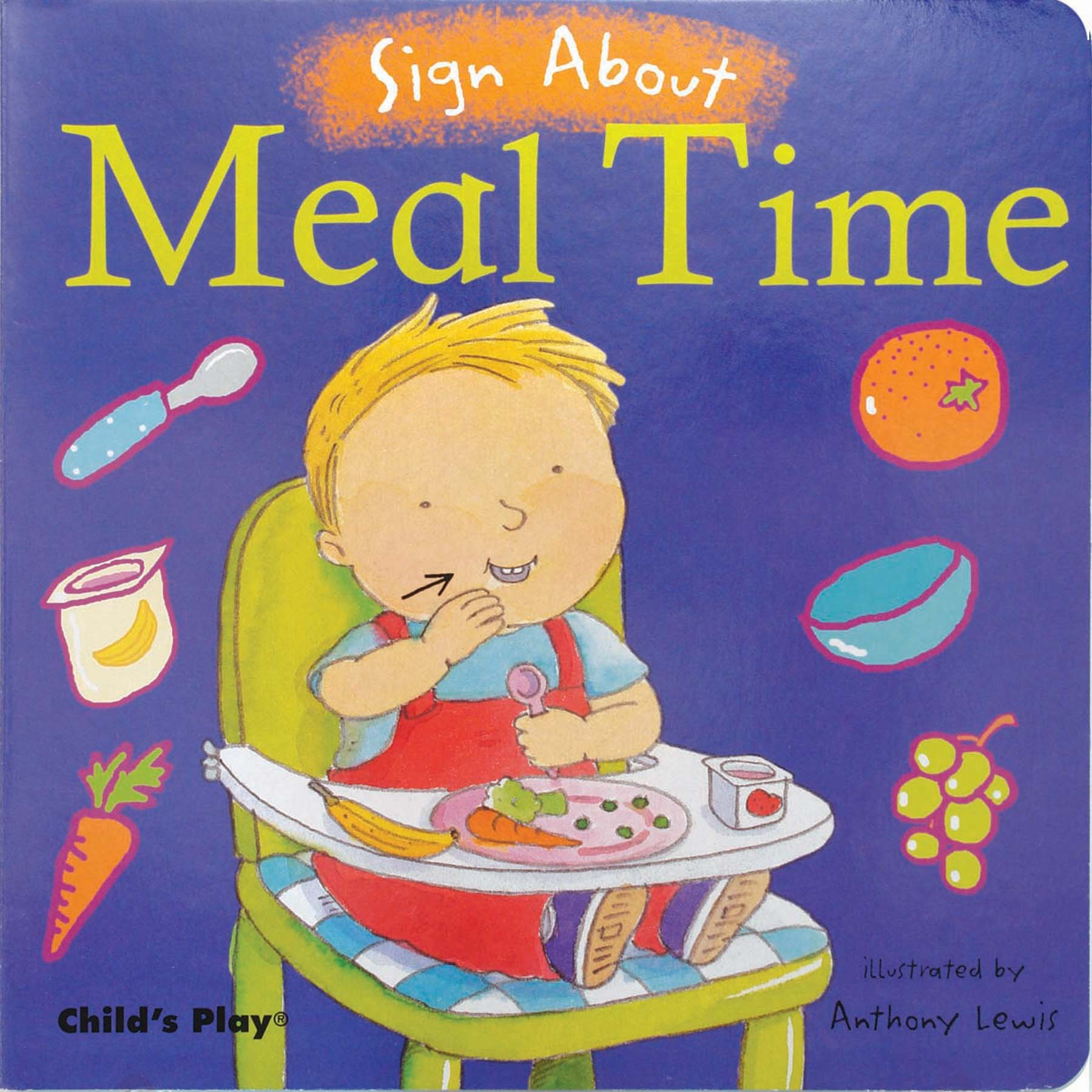 Sign About Meal Time
