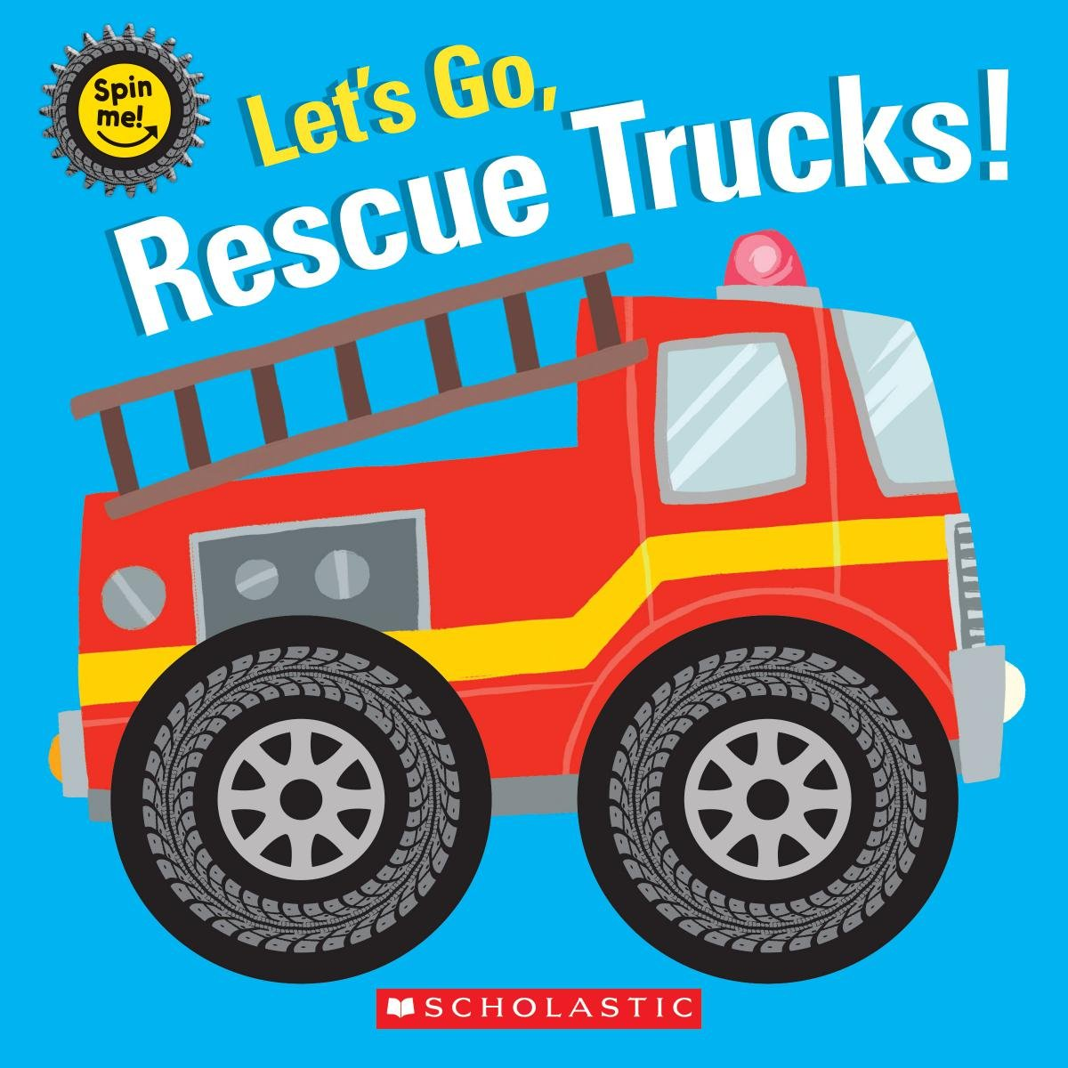 Lets go, rescue trucks