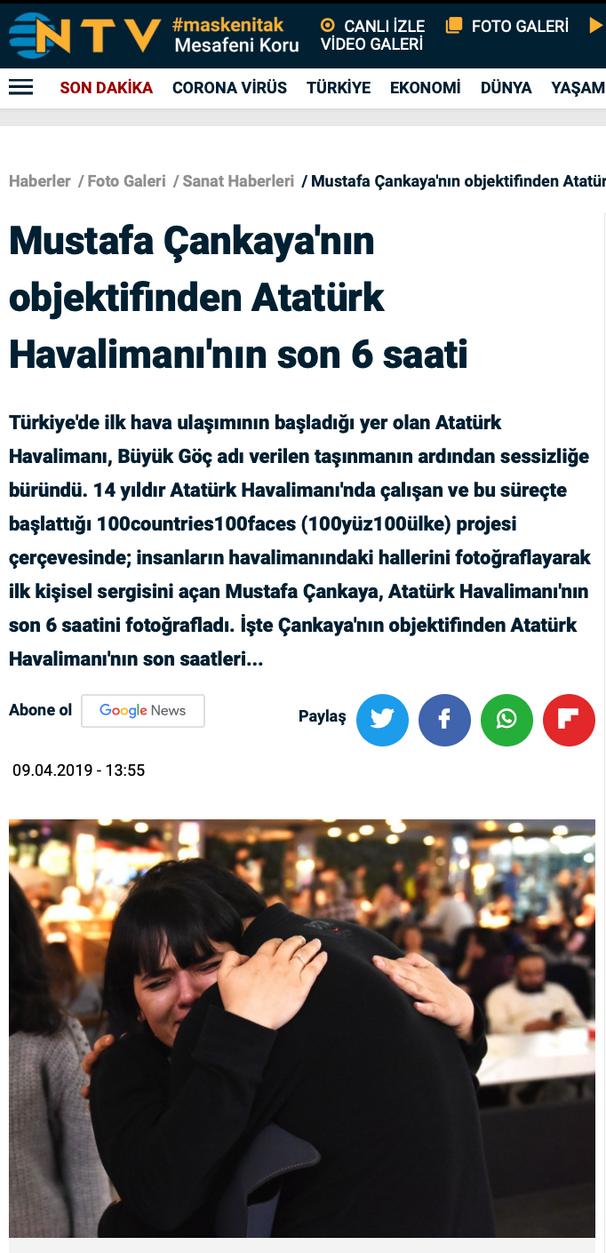 NTV Atatürk Havalimanı'nın son 6 saati